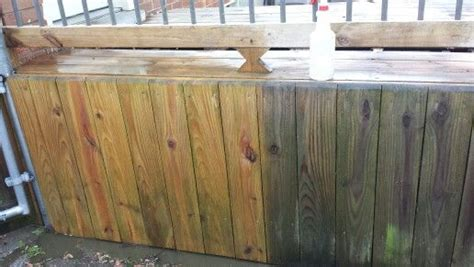 behr deck cleaner behr all in one wood cleaner diy for the home