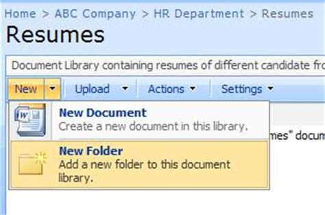 what is document library and how to create document