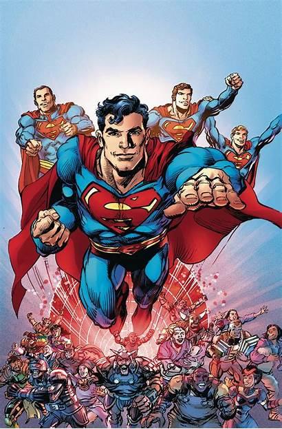 Adams Neal Superman Coming Supermen Comics Comic