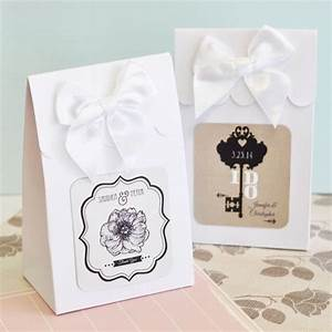 24 personalized custom vintage wedding party favor treat With personalized wedding favor bags