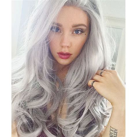 color gray hair 16 ways to rock the gray hair color trend