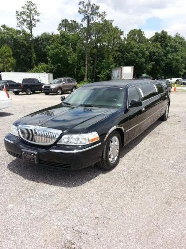 Used Cars In New Richey Fl by Find Used 2006 Lincoln Town Car Stretch Limo By 6