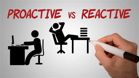 proactive  reactive source  security