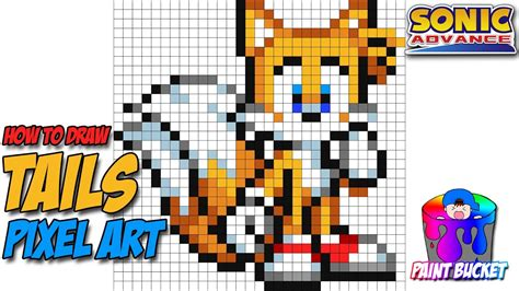 How To Draw Tails From Sonic The Hedgehog