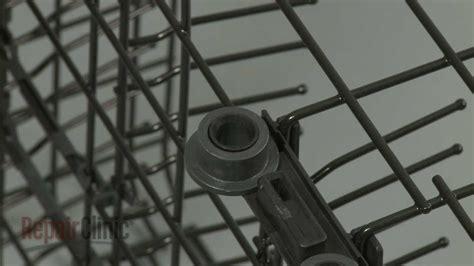ge dishwasher dish rack roller replacement