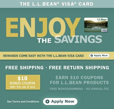 A visa credit card doesn't just offer you convenient buying power. L.L.Bean Visa Credit Card offers free shipping and more   Flickr