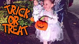 KIDS FIRST TRICK OR TREATING! - YouTube