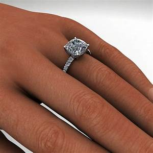 sage ring 42 carat cushion cut neo moissanite With 4 carat wedding rings