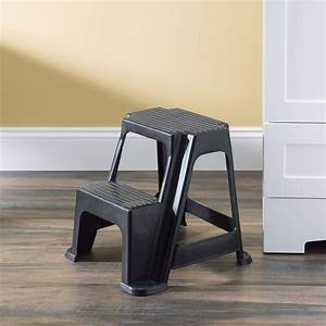 Home, Basics, 2-stair, Step, Stool, Holds, Up, To, 250, Lbs