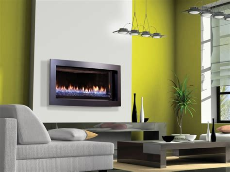 Slayton S Direct Vent Gas  Ee  Fireplace Ee   Contemporary Gas