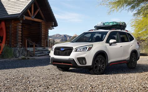 Subaru Forester 2020 Colors by 2020 Subaru Forester White Color Side View Road Uhd 4k