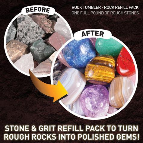 Amazoncom National Geographic Rough Gemstone Refill Kit