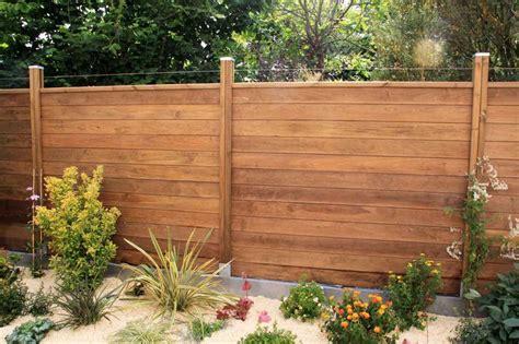 palissade en bois exterieur palissade bois et plantations http www integralpaysage galerie photo php jardin