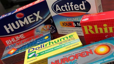 bureau etude electronique grippe rhume toux ces 28 médicaments sans ordonnance