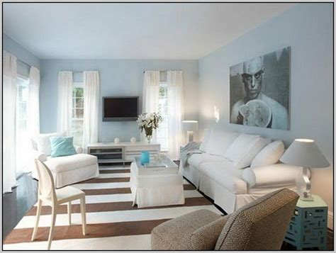 light blue grey paint color with aqua accents pops of