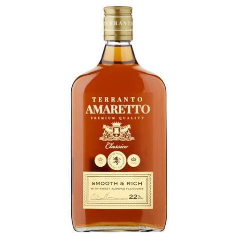 what is amaretto morrisons terranto amaretto 70cl product information