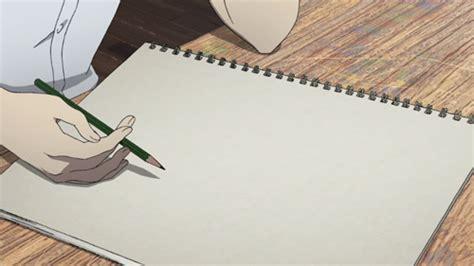 Animasi Bergerak Orang Sedang Menulis