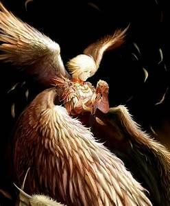 Safebooru - angel angel wings armor blonde hair highres ...