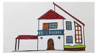 comment dessiner une maison moderne youtube - Apprendre A Dessiner Des Maisons