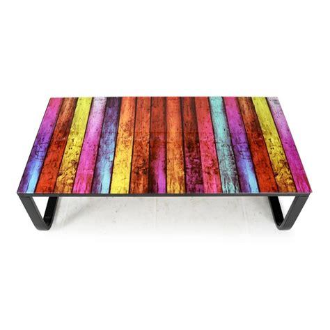 "Table Basse ""shadoss"" 105cm Multicolore"