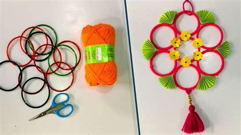 Diy  Old Bangles Reuse Idea  Best Craft Idea  Diy Arts