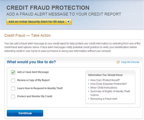 credit account  compromised experian