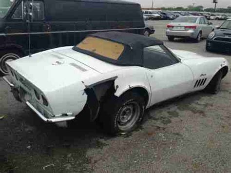 Buy Used *****1969 Corvette....parts Only....no Title