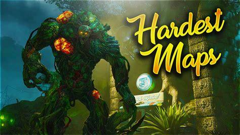 zombies hardest maps zombie cod bo2 waw bo bo3 ever