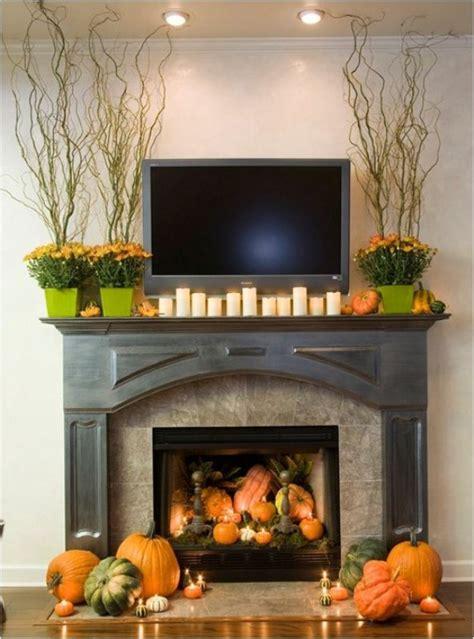 delightful diy fall mantel decoration ideas