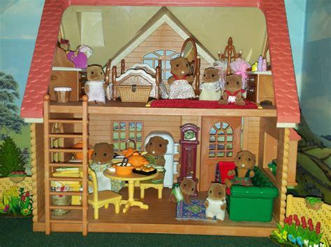 sylvanian families cottage copper beech cottage sylvanian families