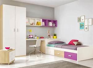 chambre multicolore fille With chambre bébé design avec composition de fleurs pas cher