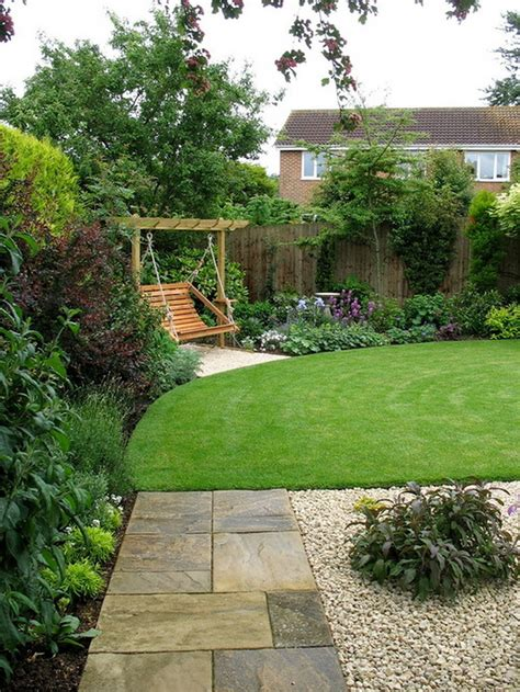 landscape design ideas minimalist home landscape in small space with pavers and