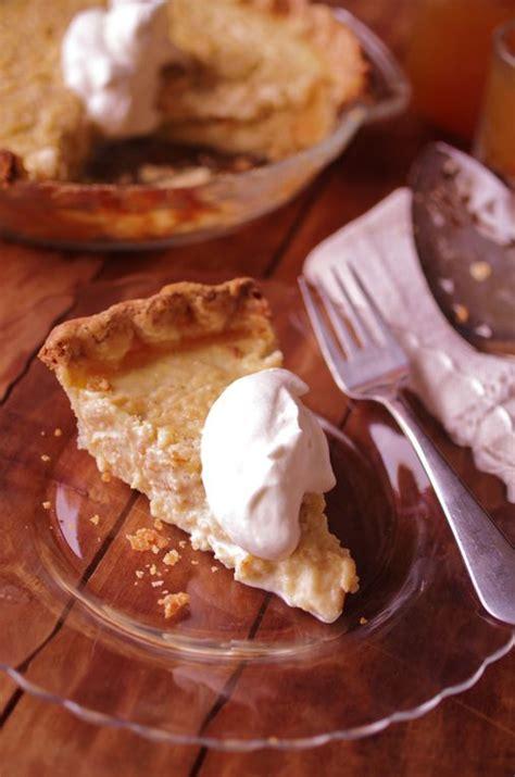 recipe  open faced apple custard pie  boston globe