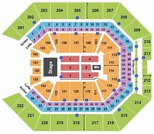 Golden 1 Center Seating Chart  U0026 Maps