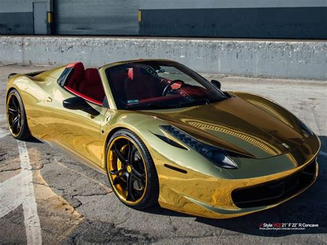 golden ferrari wallpaper black and gold ferrari 38 widescreen wallpaper