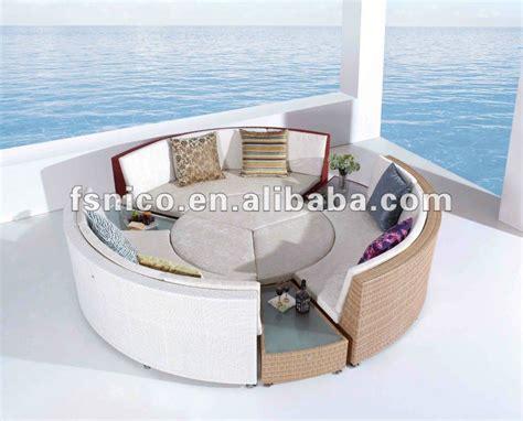 Semi Circle Outdoor Furniture by Rattan Semi Circle Sofa Rattan Furniture Buy Semi Circle