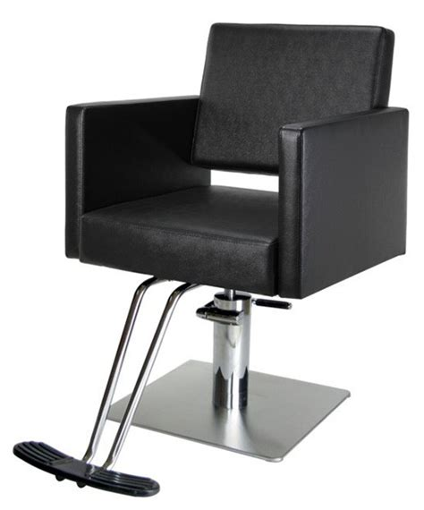 modern salon styling chair on square base buy rite