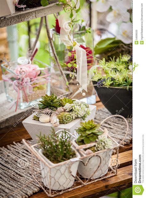 garden decoration photos garden decoration shabby chic style stock image image of