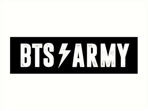 quot bts army quot art prints by whatamistry redbubble