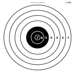 Shooting Range Targets Printable