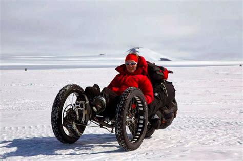 fat bike trike  custom  expedition  south pole