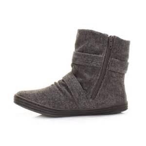womens flat ankle boots canada womens blowfish ranuku herringbone grey flat casual ankle boots size 3 8 ebay
