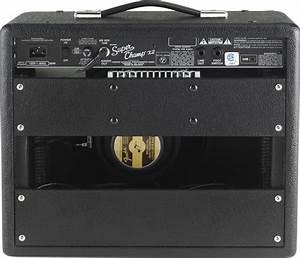 Fender Super Champ X2 Guitar Combo Amplifier  15 Watts  1x10 U0026quot