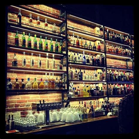 Is at paper plane coffee co. Paper Plane in 2020   Back bar design, Bar interior, Pub interior