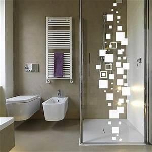 sticker pour cabine de douche craquez pour un modele With couleur salle de bain tendance