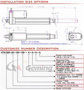 Electric Boat Trolling Motor Linear Actuator