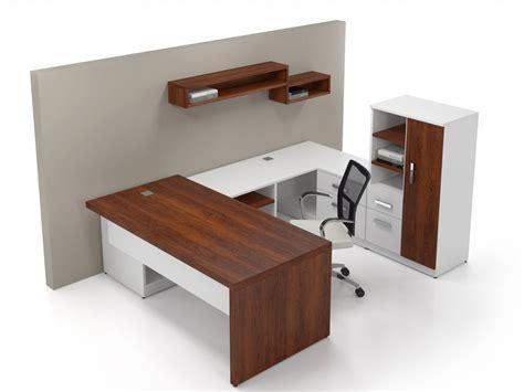 White Executive Desk Contemporary Office Desk Desk