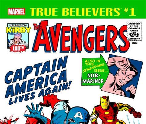 True Believers: Kirby 100th - Avengers: Captain America ...