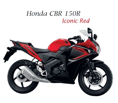 cbr 150r red colour price honda cbr150r new paint scheme for thai people