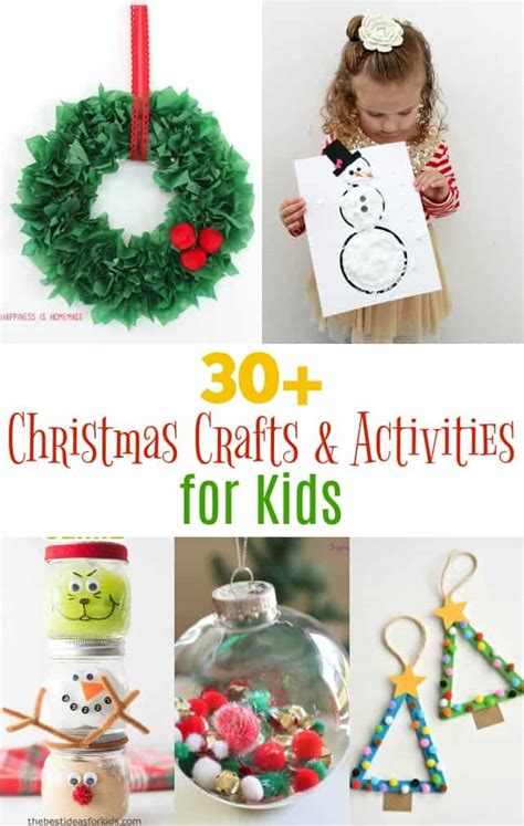 fun christmas kid crafts  activities girl loves glam